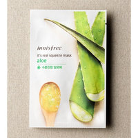 innisfree It's real squeeze mask (10 pack, Aloe)