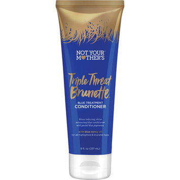 Not Your Mother's Triple Threat Brunette Blue Treatment Conditioner