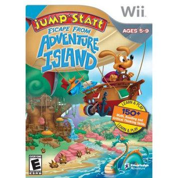 KNOWLEDGE ADVENTURE#44; INC. KA20820 Jumpstart Escape From Adventure Island Wii