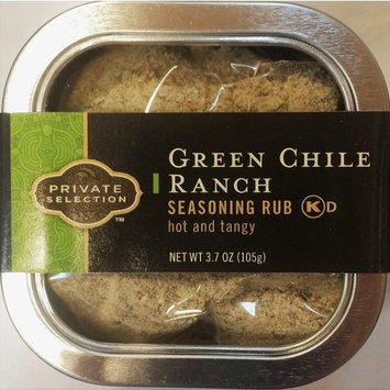 Private Selection Green Chile Ranch Seasoning Rub 3.9 oz (Pack of 3)