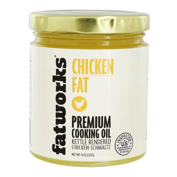 Chicken Fat Premium Cooking Oil - 8 oz.