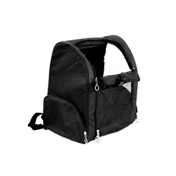 Anima Black Backpack Carrier For Pet Dog Cat Puppy - One Size