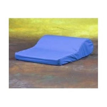 Living Health Products AZ-74-1016-SBL AB Tension Pillow with Satin Cover - Blue