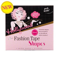 Hollywood Fashion Tape Shapes 24 Pieces - 2 Pack