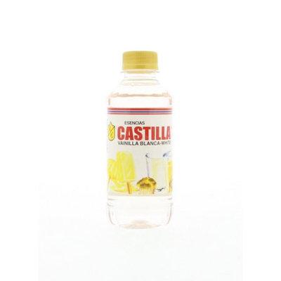 Escencias Castilla Castilla Vanilla Clara Flavoring - Esencia sabor a Vainilla 8.6 Oz (Pack of 12)