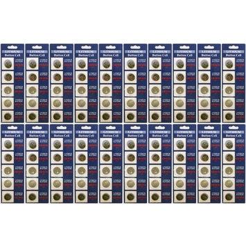 100 x Powertron Lithium Coin 3V CR1616 1616 button cell batteries