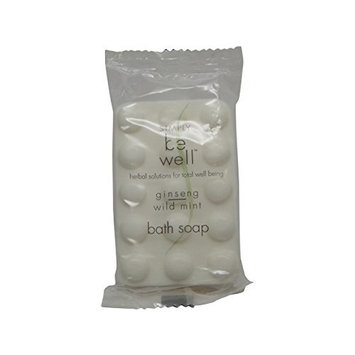 Simply be Well Ginseng Wild Mint Bath Soap lot of 18 bars. Total of 27oz