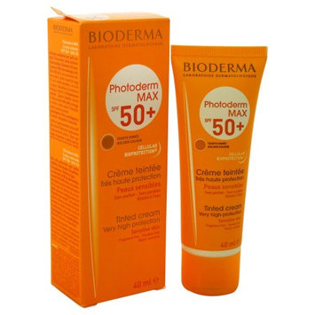 Photoderm Max SPF 50+ Tinted Cream - Golden Colour by Bioderma for Unisex - 1.3 oz Cream