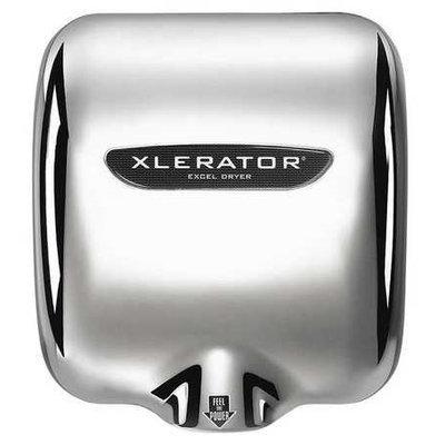 XLERATOR XL-CH-1.1N-208V Hand Dryer, Chrome,15sec,208V,Zinc Dicst
