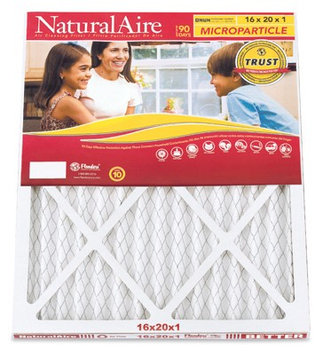 Aaf/Flanders 85156.011620 Pleated Microparticle Red Furnace Filter, 16x20x1- In, Must Purchase in Quantit - Quantity 12 (Pack of 12)