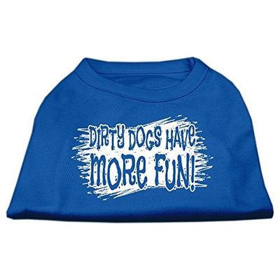 Ahi Dirty Dogs Screen Print Shirt Blue Med (12)