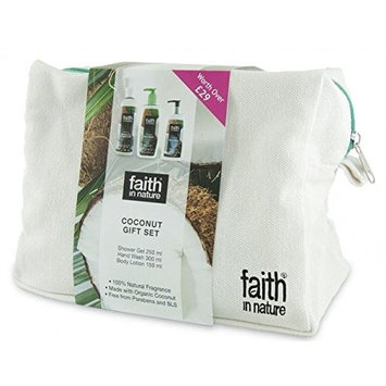 Faith In Nature Coconut Wash Bag Gift Set