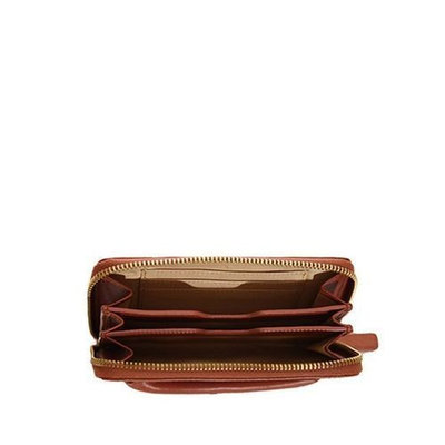 JILL-E Calhoun - Leather Smartphone Clutch (Saddle) - 472014