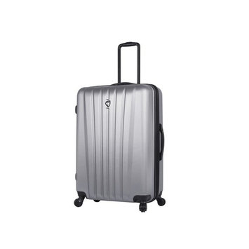Magari 20 in. Silver Carry-On Spinner Suitcase