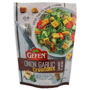 Gefen Salad Croutons, Onion & Garlic, 5.2 Oz