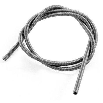 AC 220V 3000W Metal Heating Element Coil 80cm Long Silver Tone