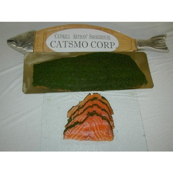 Solex Catsmo Gravlox Smoked Slamon - 1lb Presliced Package