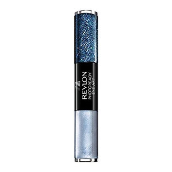 (Pack 2) Revlon PhtoRdy Eye Art Lid+Line+Lash, Cobalt Crystal : Beauty