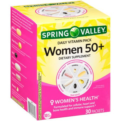 Spring Valley Women 50+ Daily Vitamin Pack Dietary Supplement
