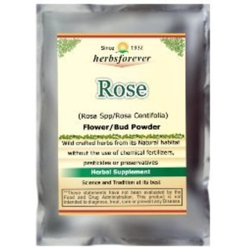 Rose Petals Powder (Rosa Centifolia) Premium Cullinary Grade Tea taste , Face scrub 4 OZ, 100 Gms, 2X Optimum Potency