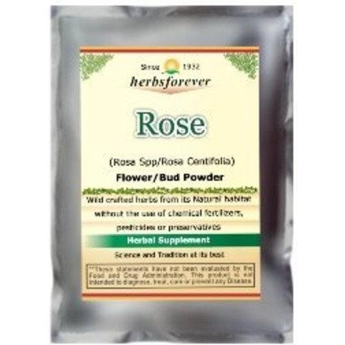 Rose Petals Powder (Rosa Centifolia) Premium Cullinary Grade Tea taste , Face scrub 4 OZ, 100 Gms, 2X Optimum Potency