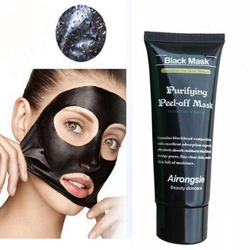 Urberry Remove Blackhead Facial Mask, Deep Cleansing Black Mud Purifying Peel Off Facail Face Mask