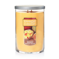 Newell Brands Yankee Candle Large 2-Wick Tumbler Candle, Mango Peach Salsa