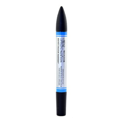 Winsor & Newton Water Colour Markers cerulean blue hue, 139 [pack of 3]