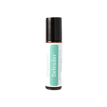 Defender (Immunity Boost) Essential Oil Blend Roll-On Bottle by Simply Earth - 10ml, 100% Pure Therapeutic Grade