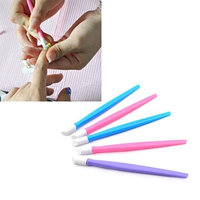 Chartsea 20Pcs Nail Art Stick Cuticle Pusher Remover Pedicure Manicure Tool (Color random)