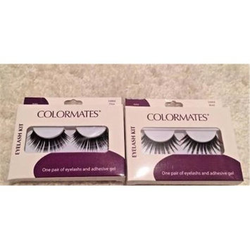 Merchandise 8648476 Colormates Eye Lash Kits Single Lash
