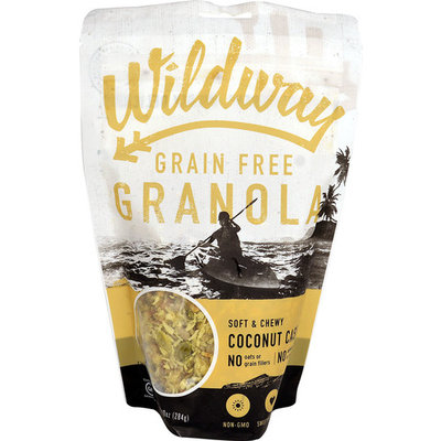 Wildway Grain-Free Granola Gluten Free Coconut Cashew -- 10 oz