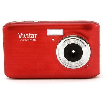 Sakar International Vivitar ViviCam F128 14.1MP Red Digital Camera