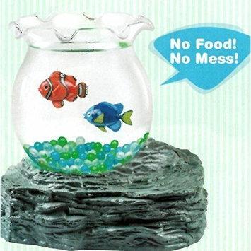 Magic Fake Fish Bowl Battery Magnetic Aquarium Kid's Birthday
