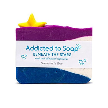 Addicted to Soap – Beneath The Stars Soap | Specially Formulated – All Natural Ingredients for Perfectly Clean Skin and a Beautifully Refreshing Scent - Handmade with Love in Texas