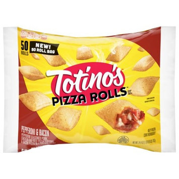 Totino's Pizza Rolls, Pepperoni and Bacon, 50 Rolls, 24.8 oz Bag