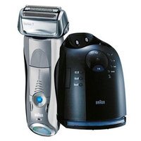 BRAUN Series 7 790CC-5 Men's Pulsonic Technology Rechargeable Washable Electric Shaver / Clean & Renew - Silver