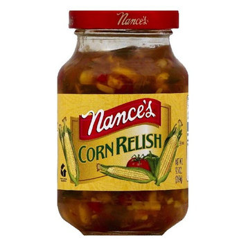 Nances Corn Relish, 9.5 OZ (Pack of 6)