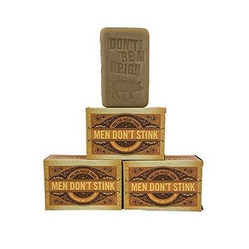 Walton Wood Farm Men Don't Stink XXL Soap Bar Pack of 3