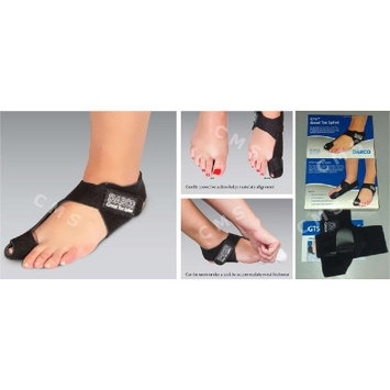 DARCO GTS Black Great Toe Alignment / Bunion Adjustable Splint For Hallux Valgus And Other Joint Conditions