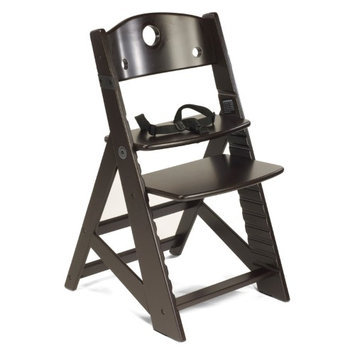 Flocast Llc Height Right Espresso Kid's Chair