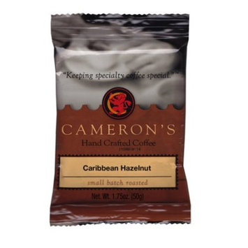 Cameron's Specialty Coffee Caribbean Hazelnut Ground, Portioned Packet, 1.75oz