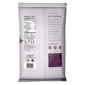 Living Intentions Activated Superfood Popcorn, Gluten Free, Vegan, Organic, Berry Smoothie, 4 Ounce [Berry Smoothie]