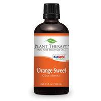 Sweet Orange Essential Oil. 100 ml (3.3 oz). 100% Pure, Undiluted, Therapeutic Grade.