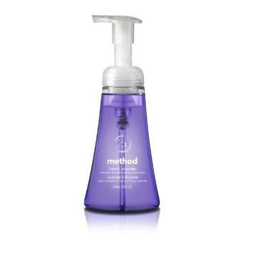 Method Foaming Hand Soap, French Lavender, 10 Ounce (Pack 6)