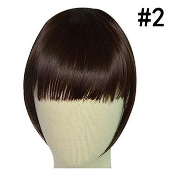 Fashion Synthetic Hair Fringe Bang Hairpiece Clips in Hair Thick Real For Women Beauty