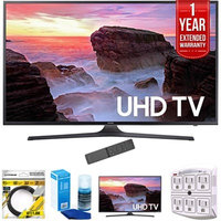 Samsung 74.5-Inch 4K Ultra HD Smart LED TV 2017 Model with Warranty Bundle