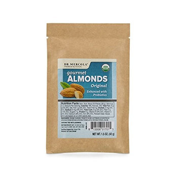 Dr. Mercola - Organic Almonds - Original Flavor (1.5 oz. per bag): 1 Bag