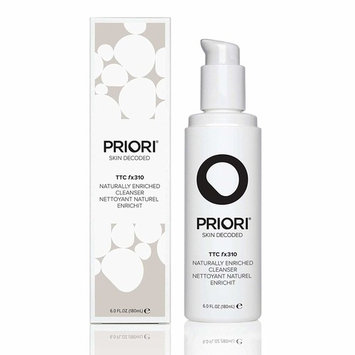 Priori Naturally Enriched Cleanser fx310 – Natural Brightening, Hydrating Face Wash with Turmeric, Aloe, Antioxidants, Green Tea – All Skin Types | Clean Beauty – 6 oz (180ml)