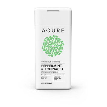 Acure Vivacious Volume Peppermint Shampoo, 12 Fluid Ounces
